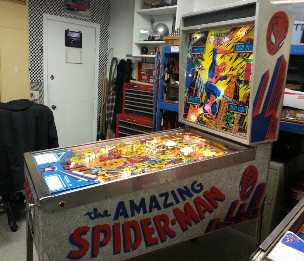 Gottlieb The Amazing Spiderman Pinball Machine For Sale